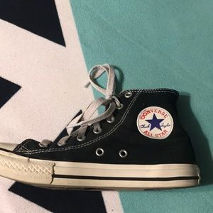 Converse Shoes - Converse Allstate black high tops